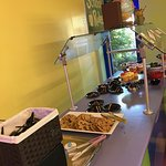 Dessert table at character dinning