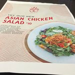 Asian Chicken Salad menu item
