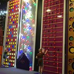 Just a few of the climbing walls