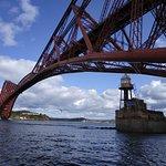 Under the Forth Bridge