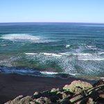 The ocean was attractive!