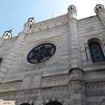 Bel settecentesco tempio del culto ebraico, sinagoga a Vercelli