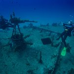 Wreck diving on P29