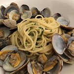 Another great dish of spaghetti alle vongole