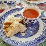 Chicken Salad Sandwich& Soup
