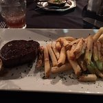 Ymmu petit filet and fries