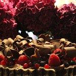 Beerentarte mit belgischer Schokolade