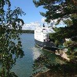 Ferry from Hanka to Själö
