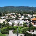 panorama e vista del giardino