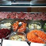 SELF SERVICE MEATS AND SALADS