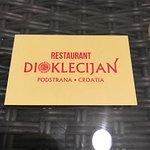 Foto de Restaurant Dioklecijan