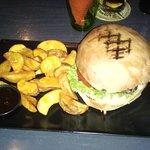 beef burger rainbow