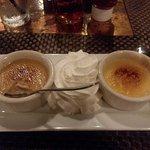 Creme Brulee - chocolate & vanilla!