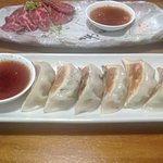 Excellent Gyoza, made in house of course!