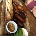 Wonderful pub, very friendly and attentive sausage platter very yummy!