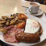 Full English Breakfast y un te soberbio