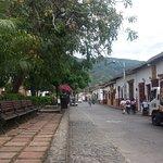 Calles y parque