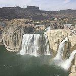 Shoshone falls in early September
