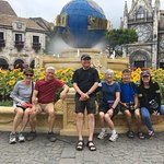 Ba Na Hills tour with Indonesia group