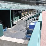 view of Tigers' dugout