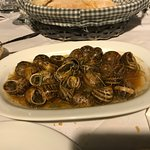 Snails in vinegar with rosemary