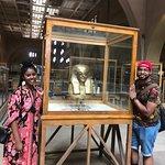 Enjoying the wonderful artifacts at the Egyptian Museum