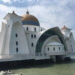 馬六甲海峽清真寺照片