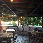 Platanos Taverna Lachania Foto