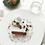 Foie gras aux abricots, Jurançon, noix de coco