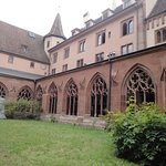 The cloister and garder