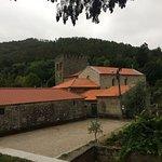 Mosteiro visto do parque de Merendas