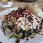 California Dreaming salad and croissant