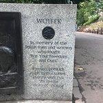 "Photo of Wojtek ""the Soldier Bear"" Statue"