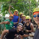 We had a great time with our guides, Rigo and Leon. They were so helpful during zip lining