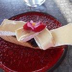 Brushetta med Brieost och vacker dekorering !