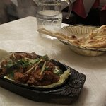 Lamb speciality & naan