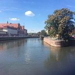Odra River Foto