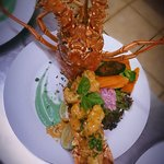 Fresh Caribbean Lobster! When fresh lobster is in, there's no stopping us!