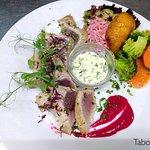 Grilled catch (tuna), prepared to your taste!