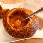Edible bread bowl