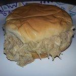 Cream chicken sandwhich