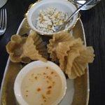 paniers dorés de poulet thaï
