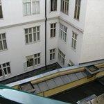 vue depuis le balcon, 4ème étage