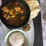 Fiji vegetable curry