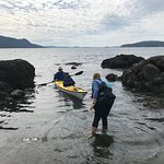 Exploring the Wasp Islands off Orcas Island