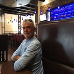 Rick at Pacini's...great way to end a great trip to the Beautiful Canadian Rockies