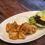 You can't go wrong with some Salt & Pepper squid