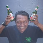 It's always Bintang time at Lucky Day - featuring the famous Jacky Chan