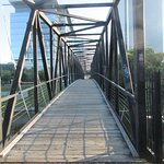 A bridge across the canal