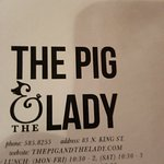 Photo de The Pig and the Lady